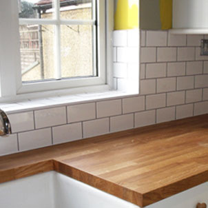 Ceramic kitchen tiling
