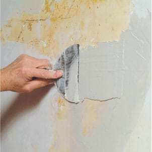Plaster patching