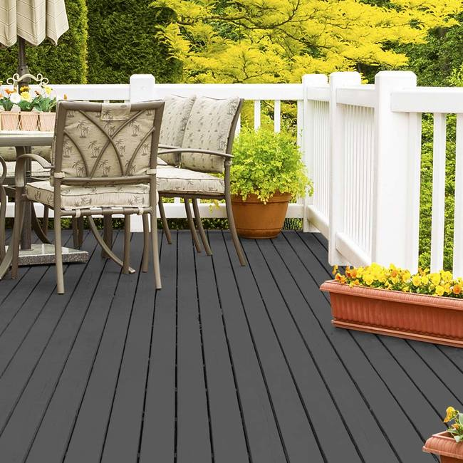 Coloured deck stain